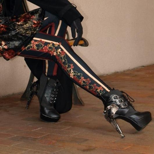 Black Butterfly Leggings