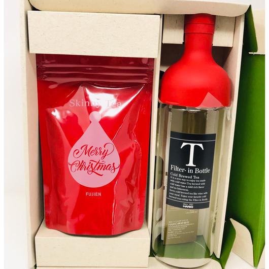 11月26日以降順に発送予定 クリスマス ギフトセット Skinny Tea 30 Days  フィルターインボトル 750ml