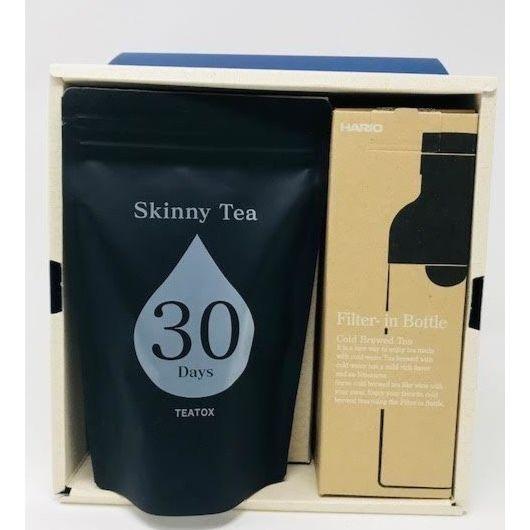 Skinny Tea 30 Days  フィルターインボトルセット 750ml