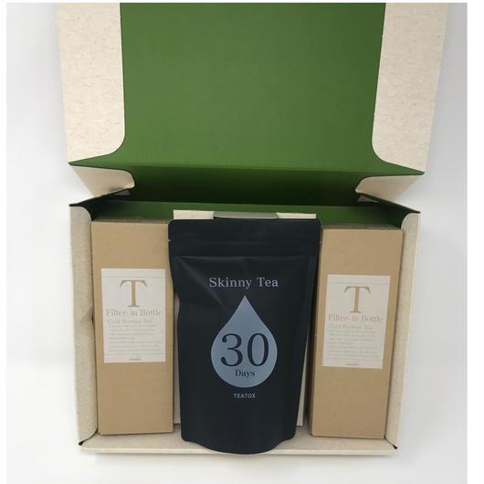 Skinny Tea 30 Days  フィルターインボトルセット 300ml x 2