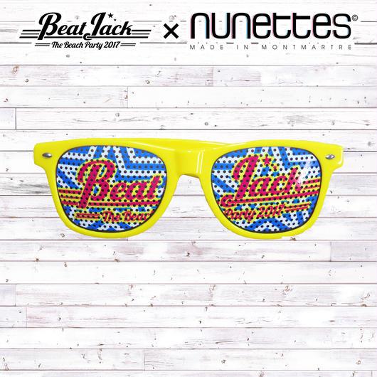 BeatJack×nunettesサングラス(イエロー)