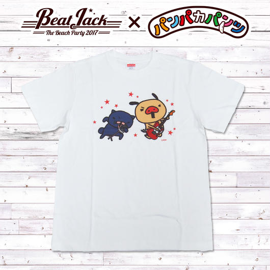 BeatJack×パンパカパンツコラボ Tシャツ(ロック)