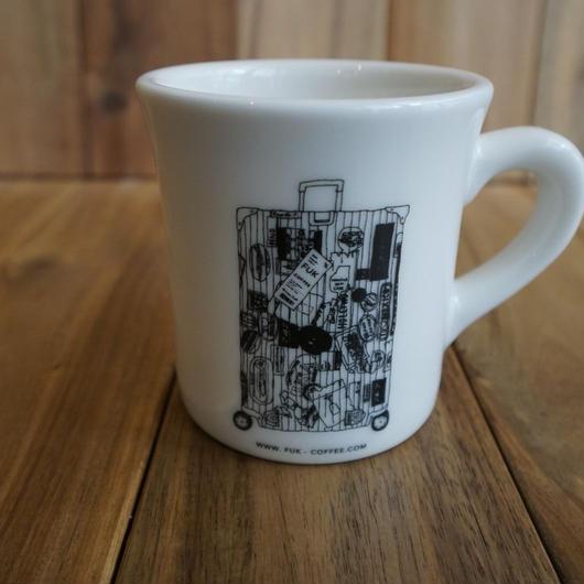 【ニシクボサユリ デザイン】FUK  マグカップ