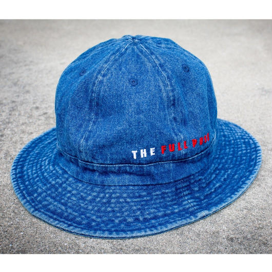""" THE FULL PUSH "" Logo Denim Ball Hat"