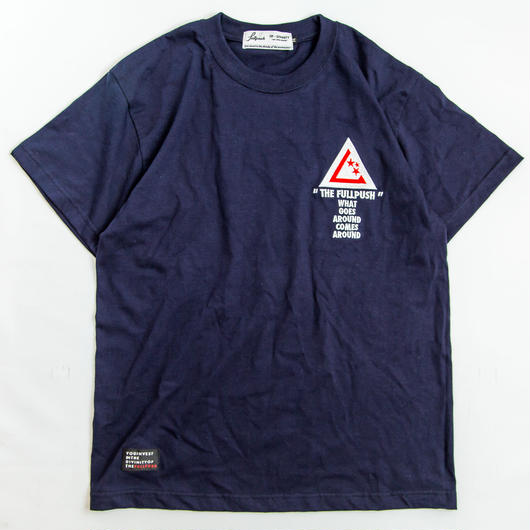 "Full Push "" SANITY T-Shirt "" Navy Body"