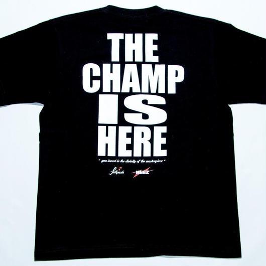 "NEEZ×Full Push "" THE CHAMP IS HERE "" Black body."