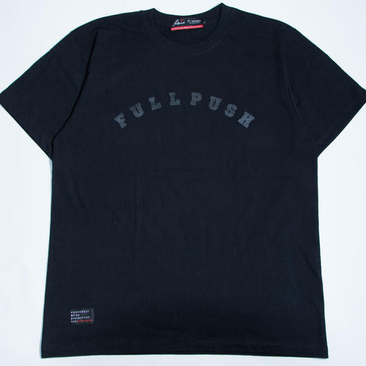 """Full Push Arch Logo T-shirt  """"PLAY WITH COLOR"""""""