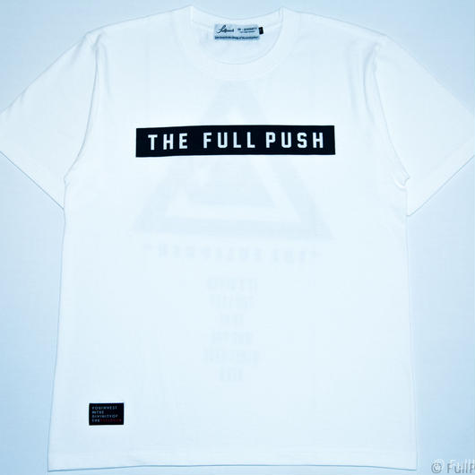 "Full Push  "" Union Vow T-shirt ""  White Body."