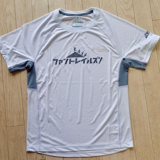 【FunTrails オリジナルTシャツ2017】《White》メンズタイタンウルトラショートスリーブシャツ