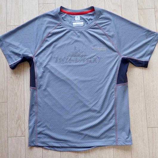 【FunTrails オリジナルTシャツ2017】《Glay Ash》メンズタイタンウルトラショートスリーブシャツ