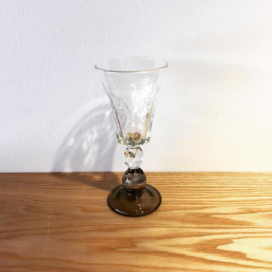 六角ワイングラス 「作家 村上恭一」