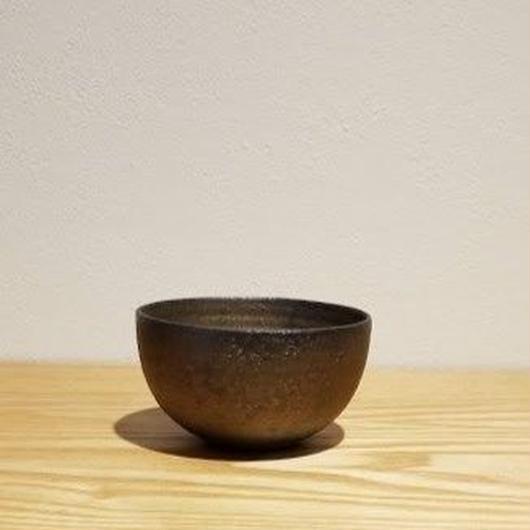 銅彩釉ぐい呑「作家 水野幸一」  (No.9)