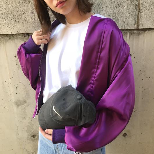 satin pika blouson(lavender)