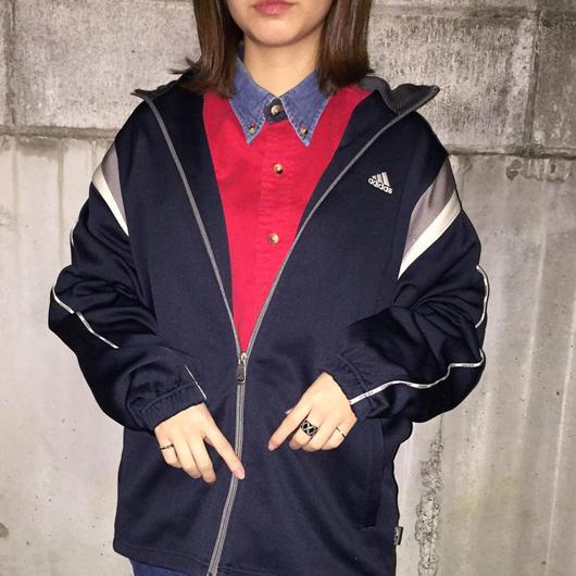 Adidas navy shoulder line jersey