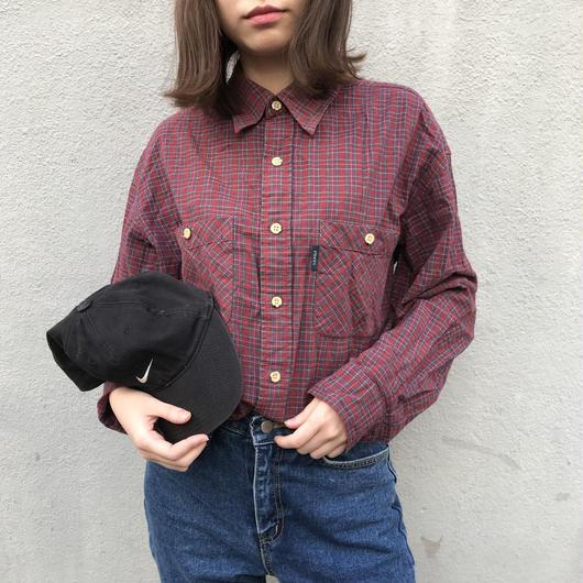 U.S. POLO  check shirts