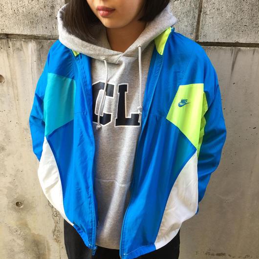 Nike neon color nylon jacket