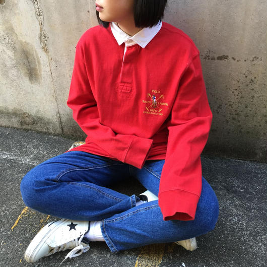 Polo red one point rugby sweat
