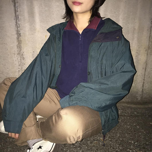 LTB green nylon jacket