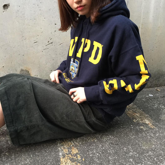 NYPD navy sweat