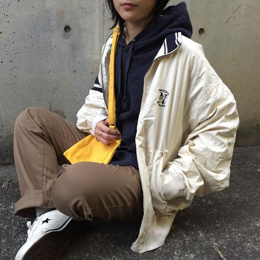 Nautica sporting club white nylon jacket