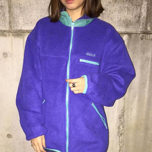 AIGLE purple high neck freece