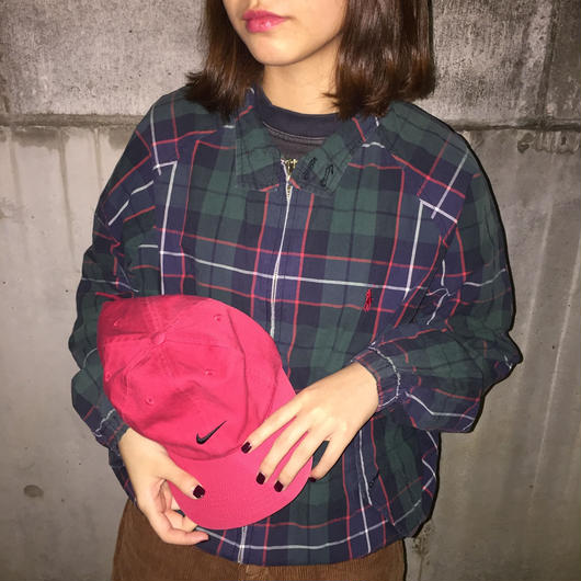 Polo check one point swing top