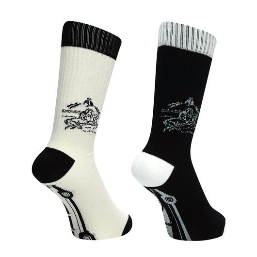 TRAFFIC Socks by nigamushi