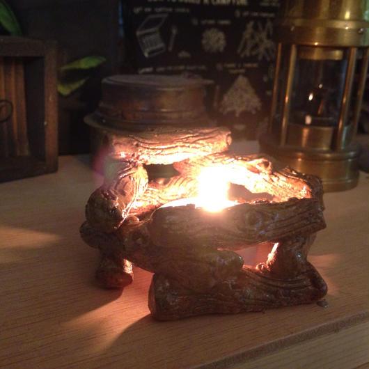 焚火キャンドルホルダー