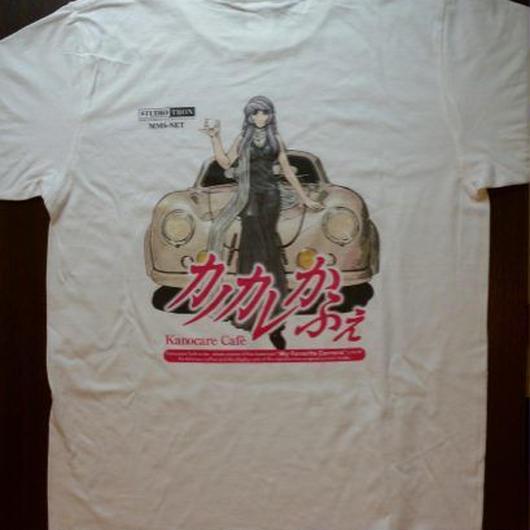 限定Tシャツ【カノカレかふぇ 麗菜356】(白)