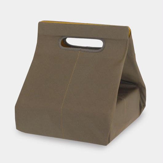 FUROSHIKI-BAG 1 khaki × mustard