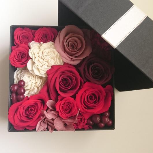 flower box レッド