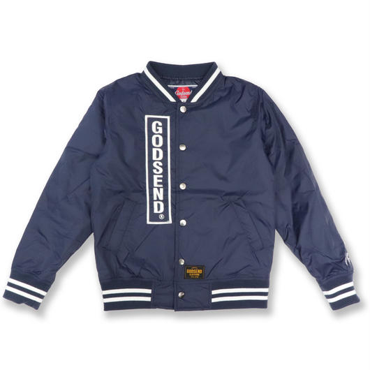 FOREVER  YOUTH  VARSITY  JACKET  FOEVER  YOUTH スタジャン  NAVY