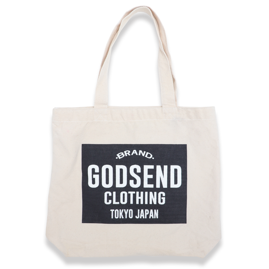 MAIN  LOGO  CANVAS  TOTE  BAG  2COLOR