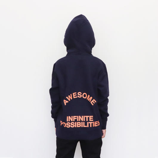 MAGNIFICENT  HOODIE  3COLORS  NAVY
