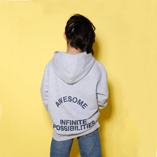 MAGNIFICENT  HOODIE  GRAY