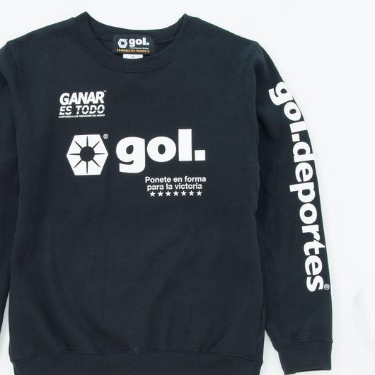 スウェットシャツ<LOGOS>(G893-704)