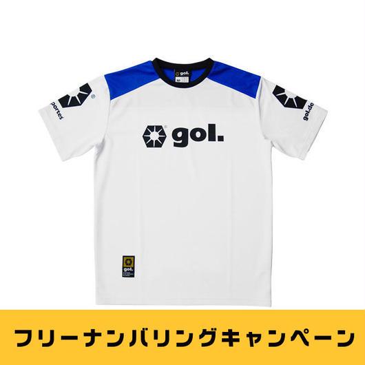 【フリーナンバリングキャンペーン】Jr.プラクティスシャツ1.3(G375-134)