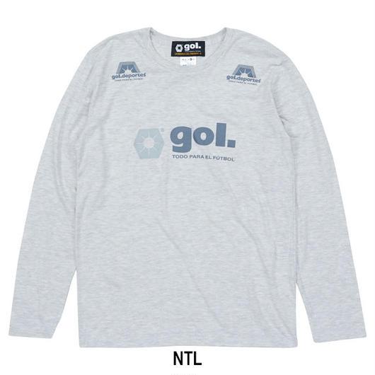 メランジ長袖Tシャツ(G691-574)