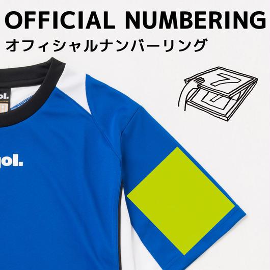 【シャツ前面】袖マーク(12cm)プリント