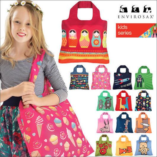 エンビロサックス[ENVIROSAX] ブランドエコバッグ Eco-friendly bag 【キッズ[KIDS]】