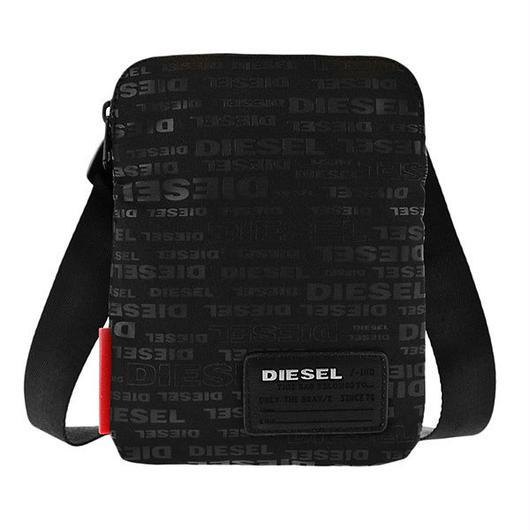 ディーゼル DIESEL メンズ ショルダーバッグ X04815-PR027-H5839 ブラック 送料無料
