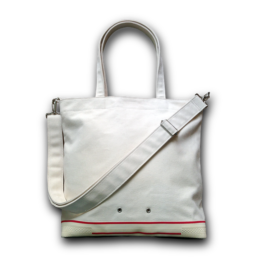 """ FOOTLOOSE 2WAY BAG "" color: ECRU"