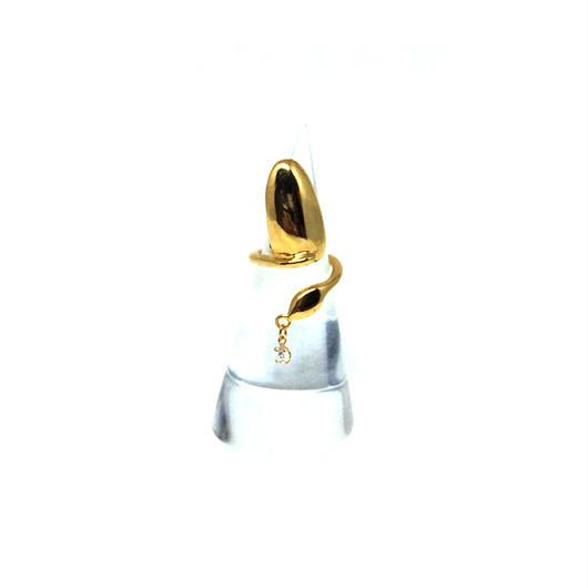 gunda<ガンダ >NAIL NAILRING/Gold[ネイル ネイルリング/ゴールド]