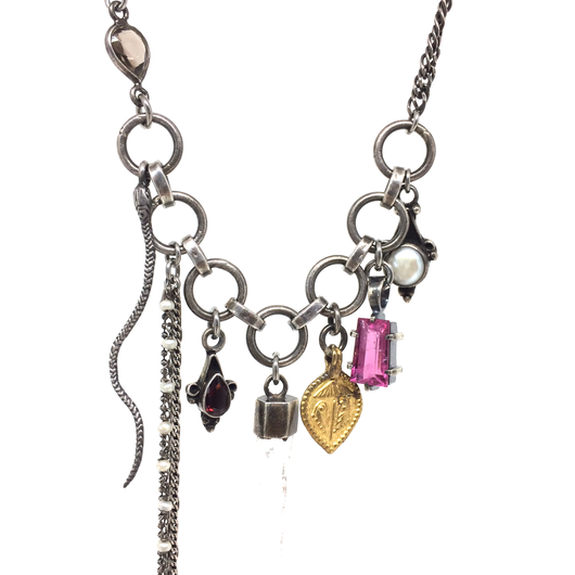 gunda<ガンダ >CANDY 4 NECKLACE[ キャンディー 4 ネックレス]  ONE OF A KIND[ 一点物]