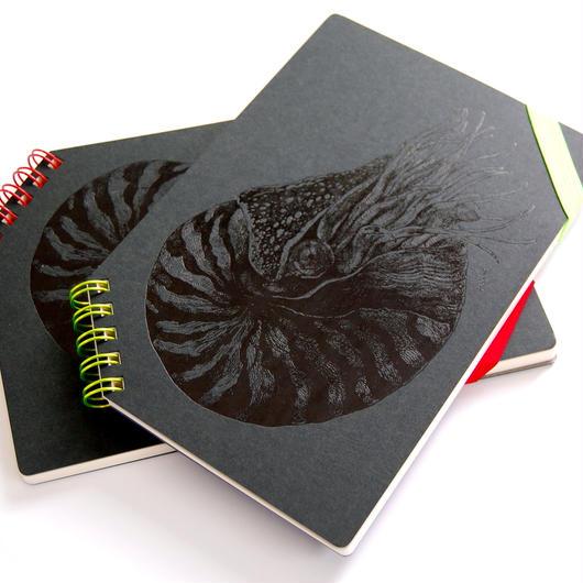 『 オウムガイ 』 ななめリングノート - Yuko Tsuji Artwork 第3弾 -