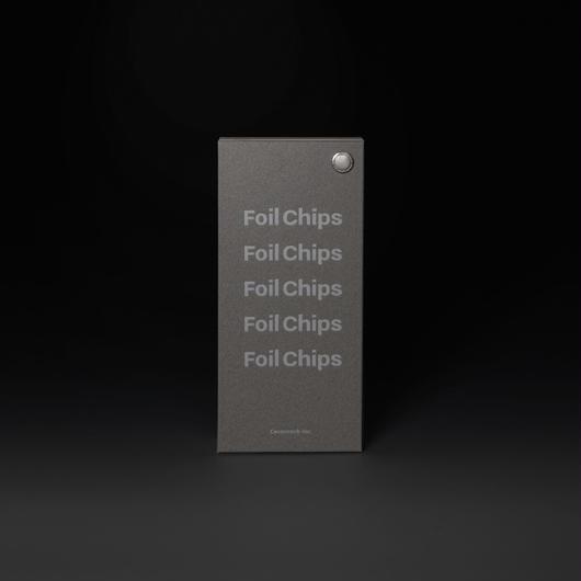 Foil Chips(表紙 白箔バージョン)