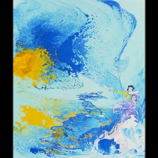 大八島の誕生(ジクレー版画)