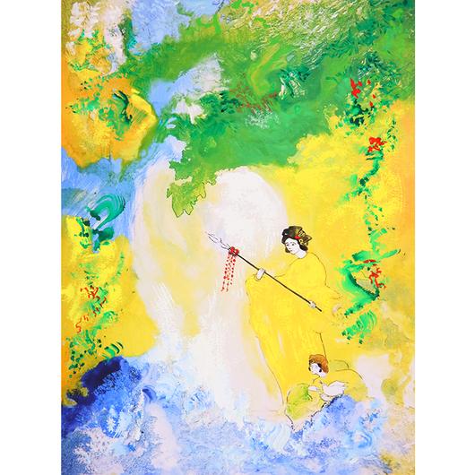 生命の母神 伊射奈美命、その永遠の愛(ジクレー版画)