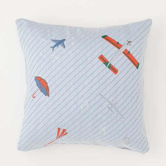 snip snap SKY cushion cover | morning umbrella