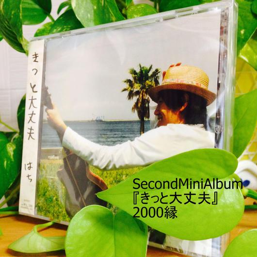 売り切れです!Second Mini Album 『きっと大丈夫』